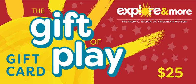 """Gift Card - """"Gift of Play"""""""